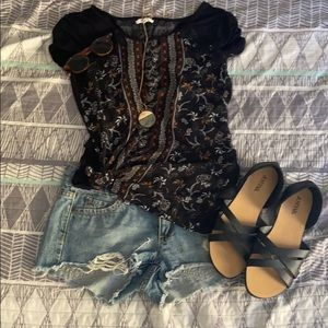 Maurice's || NWOT Gorgeous Blouse